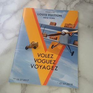 Louis Vuitton volez collection pin and catalogue